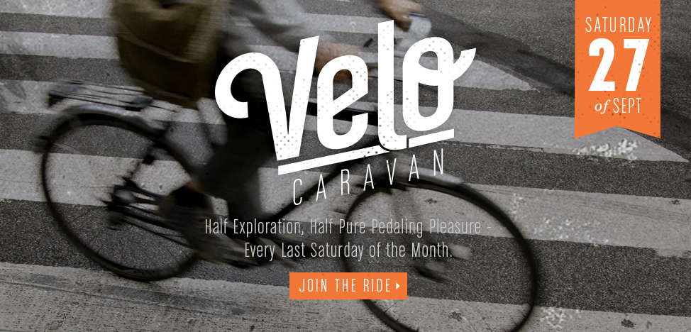 Join The Bicycle Stand for another Velo Caravan Ride!