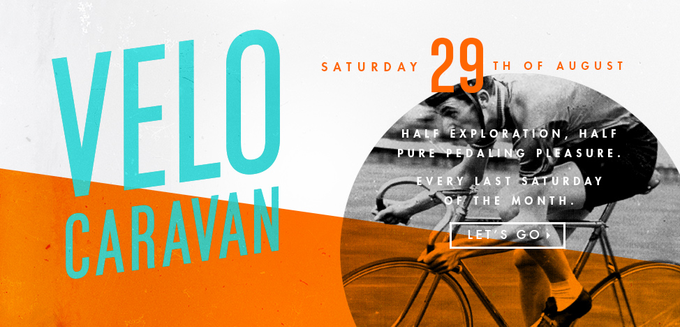 Join us for this month's Velo Caravan Ride!